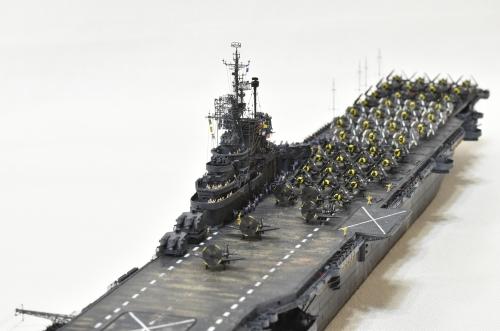 米航空母艦「バンカーヒル」(1945年2~3月頃)完成DSC_0520-1-(3)-2500◆模型製作工房 聖蹟