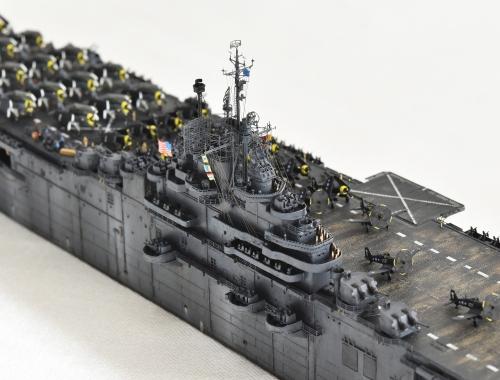 米航空母艦「バンカーヒル」(1945年2~3月頃)完成DSC_0544-1-(3)-(3)-2500◆模型製作工房 聖蹟