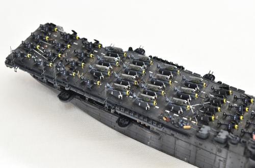 米航空母艦「バンカーヒル」(1945年2~3月頃)完成DSC_0661-1-2-2500◆模型製作工房 聖蹟