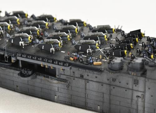 米航空母艦「バンカーヒル」(1945年2~3月頃)完成DSC_0686-1-(3)-2500◆模型製作工房 聖蹟