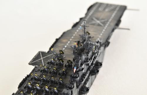 米航空母艦「バンカーヒル」(1945年2~3月頃)完成DSC_0757-1-(2)-2500◆模型製作工房 聖蹟