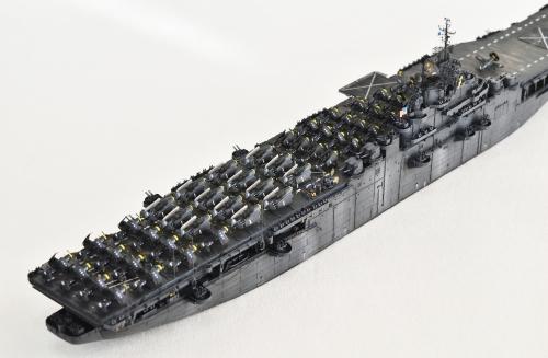 米航空母艦「バンカーヒル」(1945年2~3月頃)完成DSC_0767-1-(2)-2500◆模型製作工房 聖蹟