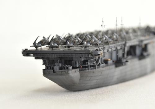 米航空母艦「バンカーヒル」(1945年2~3月頃)完成DSC_0838-1-3-2500◆模型製作工房 聖蹟