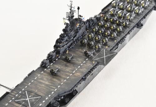 米航空母艦「バンカーヒル」(1945年2~3月頃)完成DSC_0864-1-3-(3)-2500◆模型製作工房 聖蹟