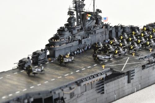 米航空母艦「バンカーヒル」(1945年2~3月頃)完成DSC_0913-1-(2)-(3)-(3)-2500◆模型製作工房 聖蹟