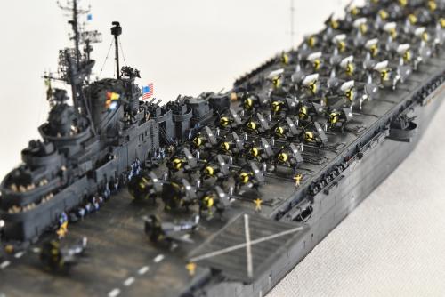 米航空母艦「バンカーヒル」(1945年2~3月頃)完成DSC_0922-1-2500◆模型製作工房 聖蹟