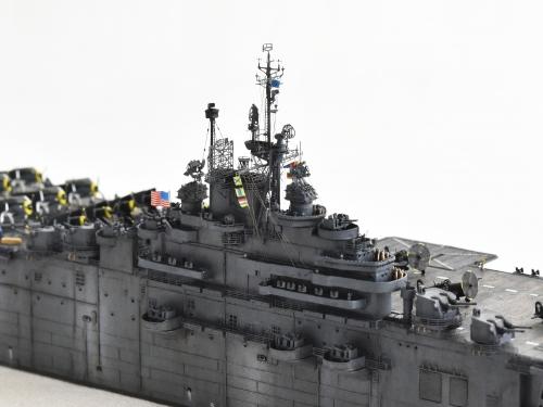 米航空母艦「バンカーヒル」(1945年2~3月頃)完成DSC_0581-1-3-2500◆模型製作工房 聖蹟