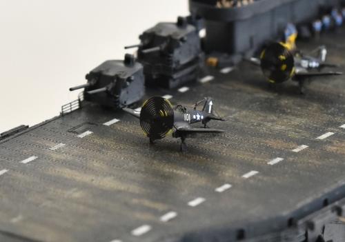 米航空母艦「バンカーヒル」(1945年2~3月頃)完成DSC_0914-1-2-(3)-(3)-(3)◆模型製作工房 聖蹟