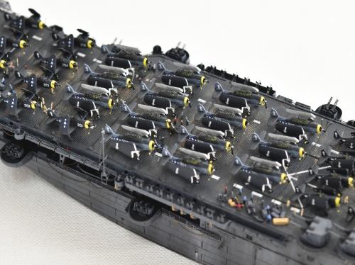 米航空母艦「バンカーヒル」(1945年2~3月頃)完成DSC_0661-1-2-(3)◆模型製作工房 聖蹟