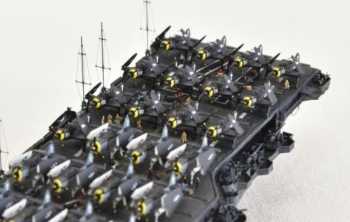 米航空母艦「バンカーヒル」(1945年2~3月頃)完成DSC_0995-1-(3)-(3)-(3)◆模型製作工房 聖蹟