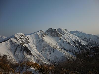 ⑧俎嵓・オジカサワの頭・谷川岳