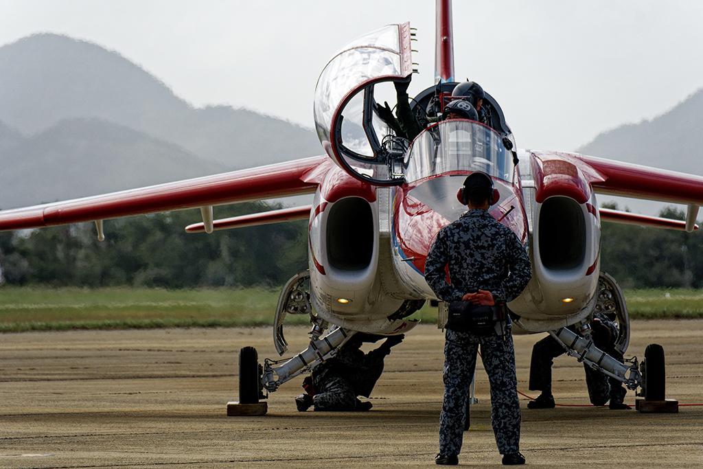 T-4 第13飛行教育団創設60周年記念塗装機