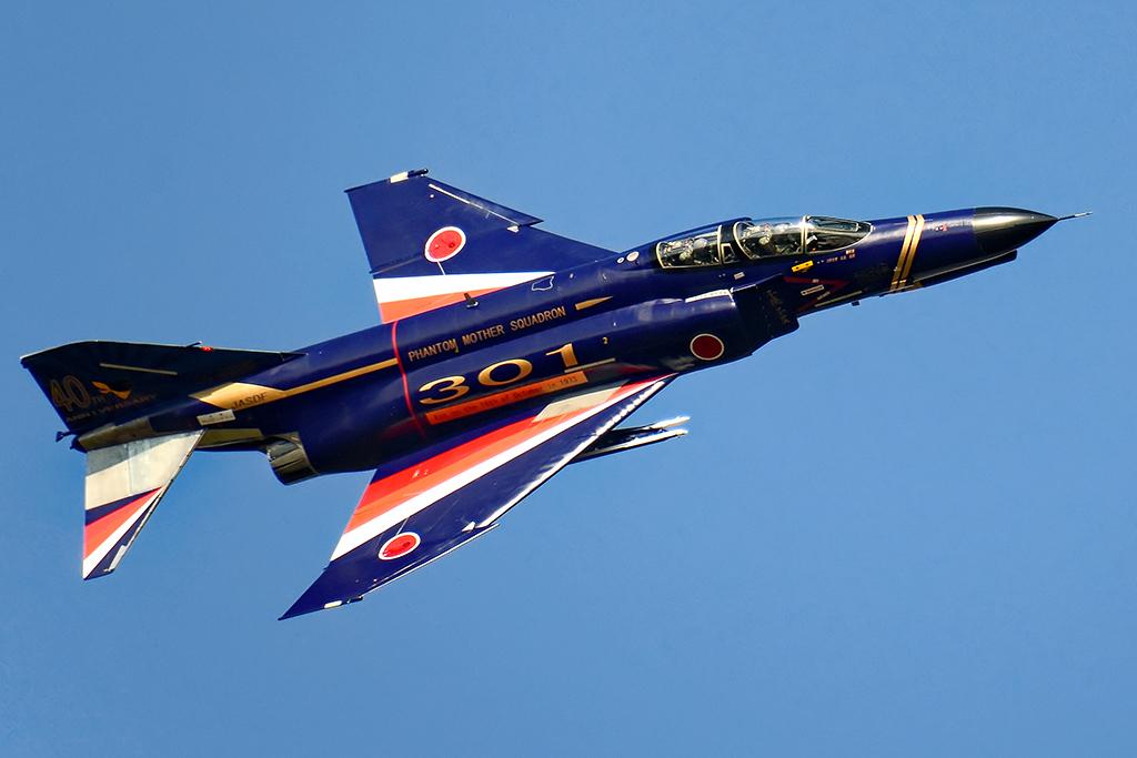 F-4EJ改 第301飛行隊40周年記念塗装