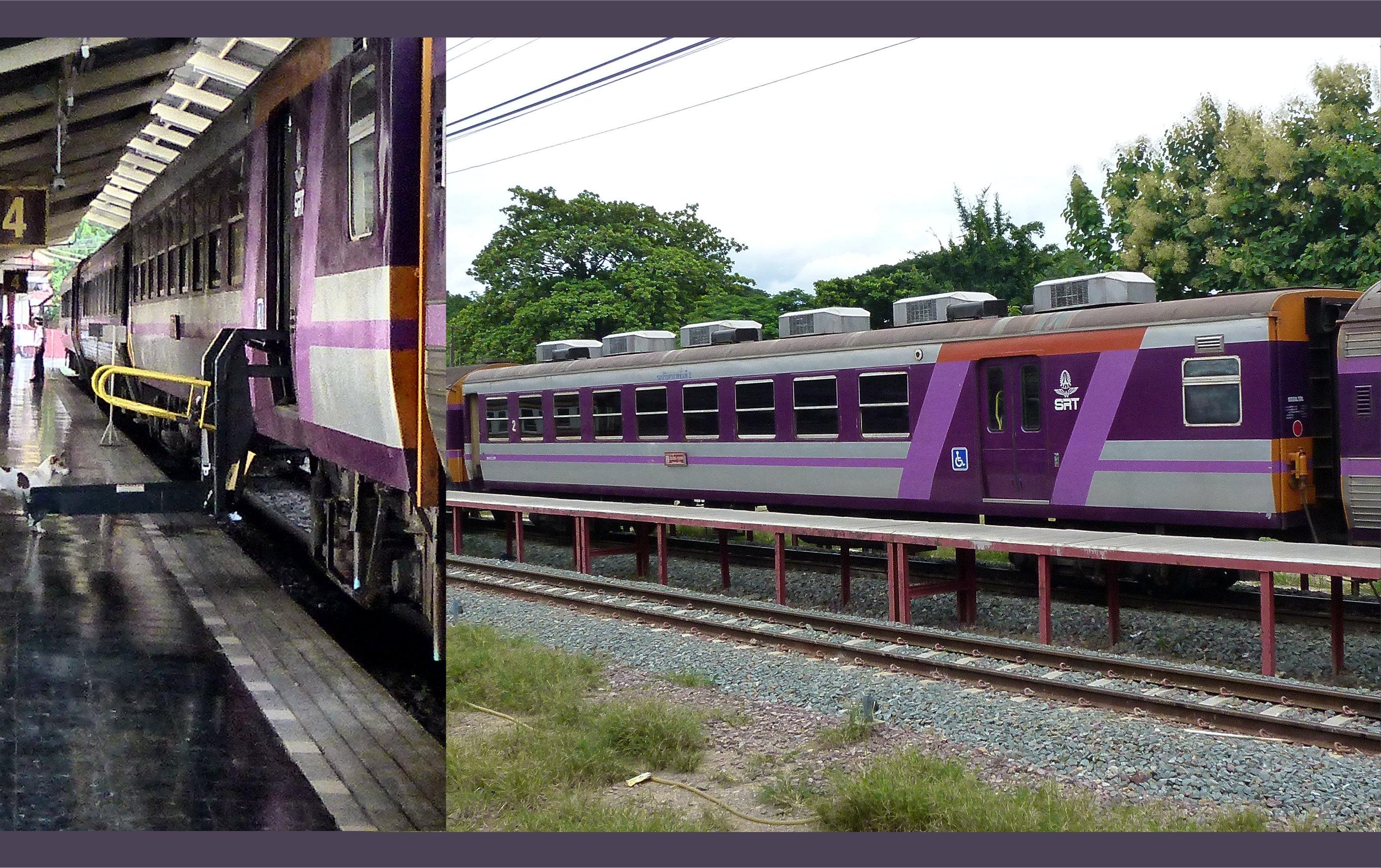 タイ国鉄のASC200形、元JR西日本オハ12