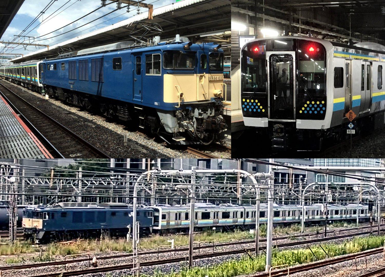 E131系 R03,R04編成配給輸送