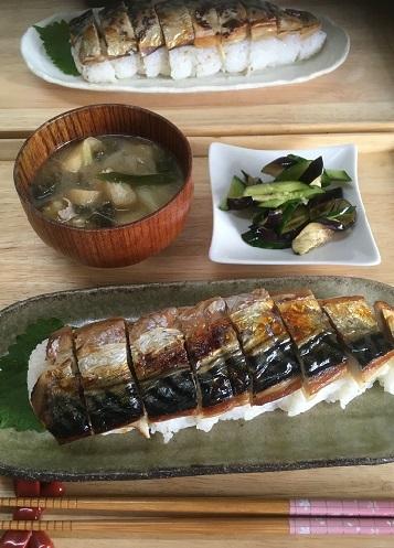 焼き鯖寿司2