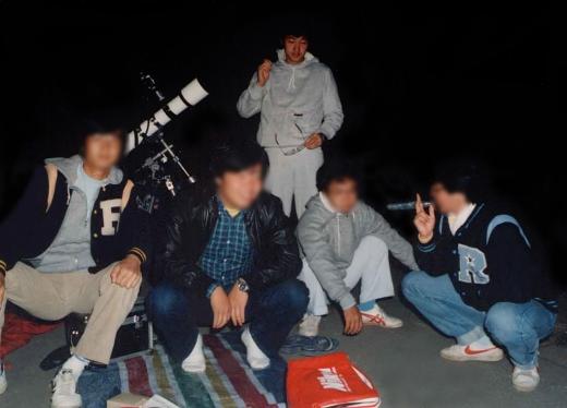 立教大学天文愛好会 夏合宿'82 @野辺山