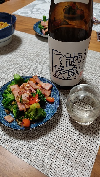 ブロッコリーベーコン炒め20201128
