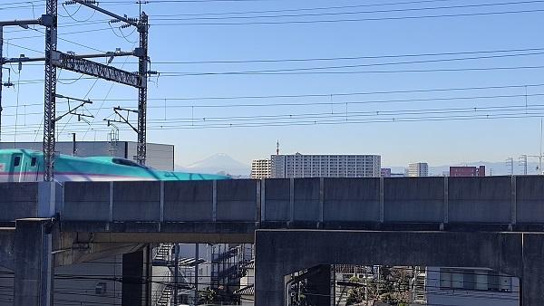 富士山と新幹線20201221