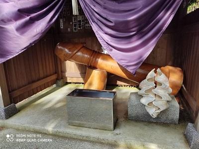 厳島神社男根20200626