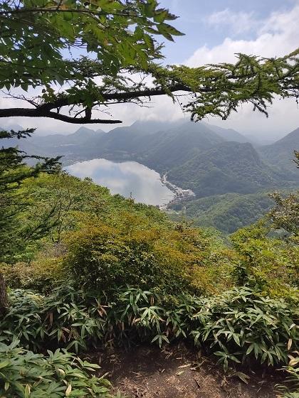 榛名湖が見える20200825