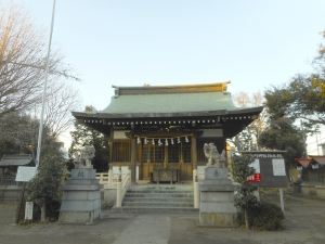 DSCN2250朝霞 氷川神社 3