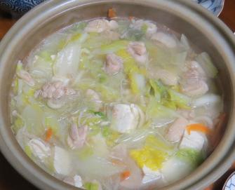ハクサイ鍋