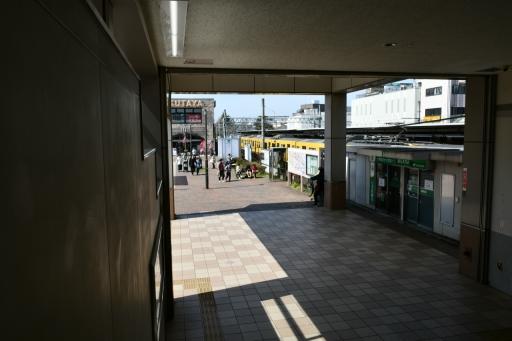 20200321・墓参り野川公園鉄6