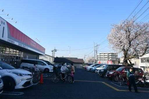 20200326・今日は荒幡富士散歩空6・スーパーセキと桜