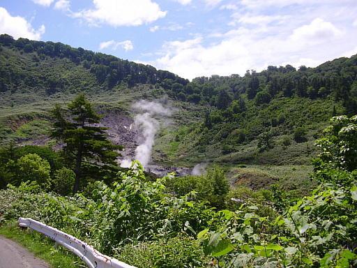 東北温泉旅行記05・玉川温泉1(玉川温泉遠景)