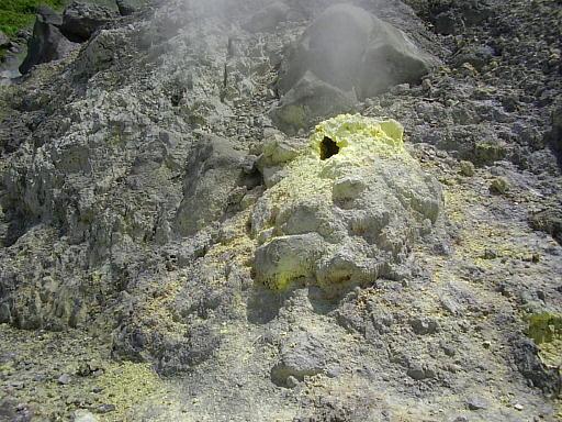 東北温泉旅行記10・玉川温泉5(噴気孔)