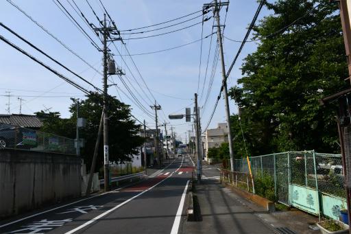 20200609・派遣の仕事の日の空03・桜田バス停