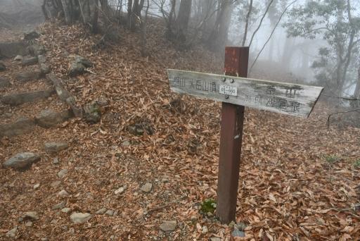20201127・大岳山へ5-18・山頂近い・中