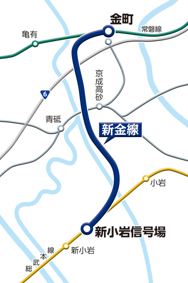 Shinkane map