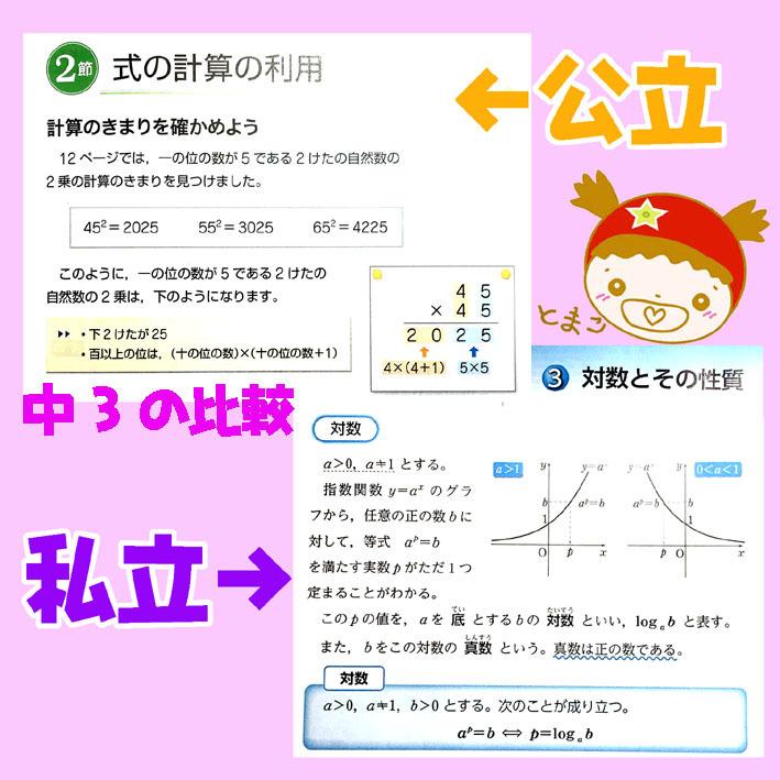 教科書比較_中3数学