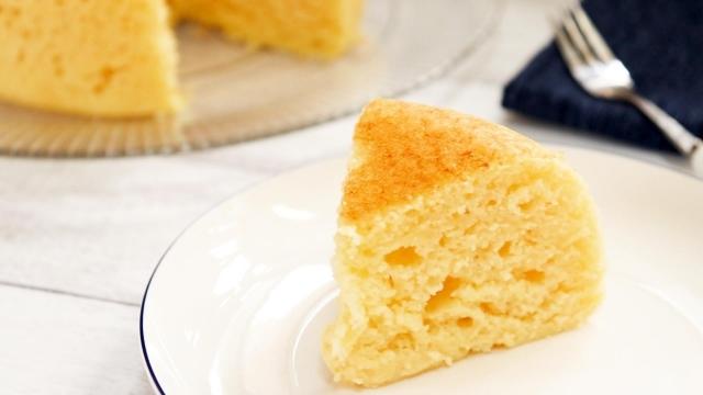 スポンジ チーズケーキ