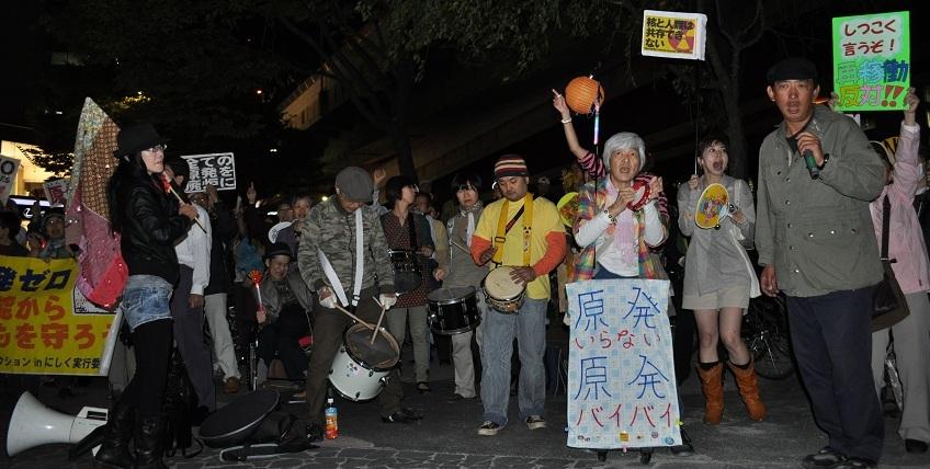 関電前行動 20121012
