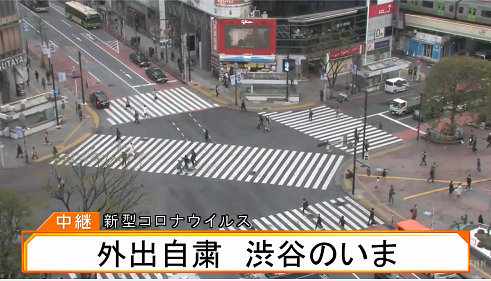 40 渋谷 スクランブル