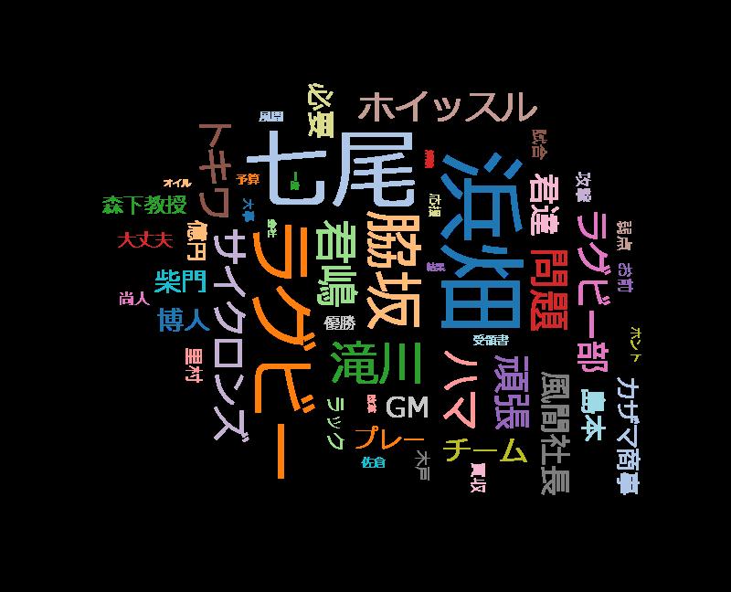 ノーサイド・ゲーム 特別編・最終夜 大泉洋、松たか子、高橋光臣