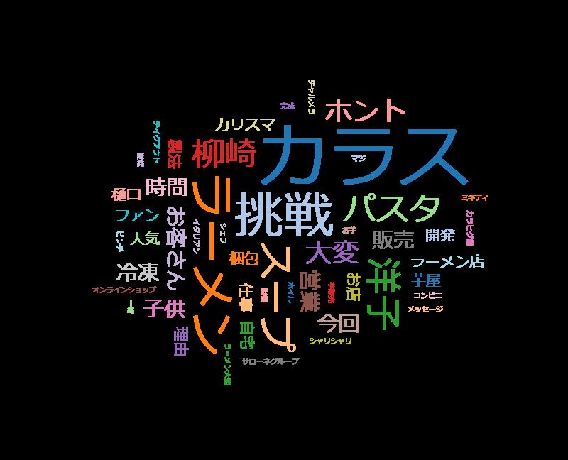 """BACKSTAGE 逆境からの逆転を目指す!""""食""""の達人の新た"""