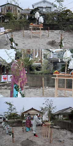 菖蒲原町地鎮祭