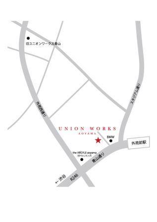 新青山店地図