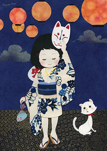 日本の美術家Panet Per