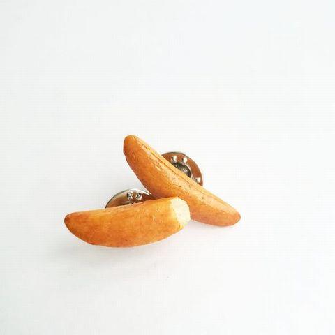 柿の種ピンバッジA (5)