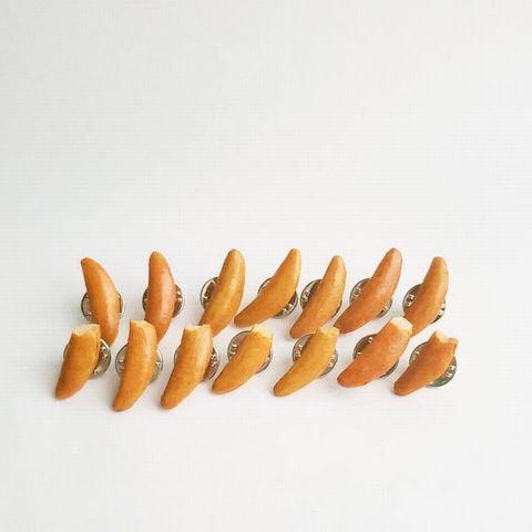 柿の種ピンバッジA (4)