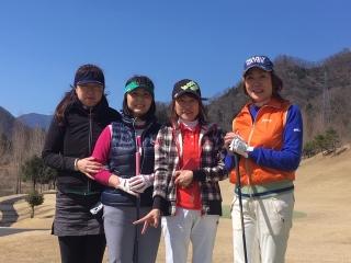 女子会ゴルフ_01