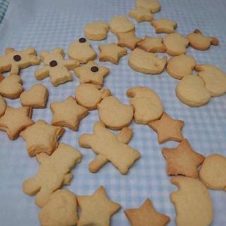 クッキー焼けた
