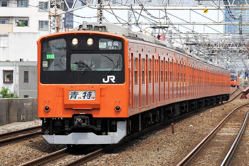 5947_201系青梅特快