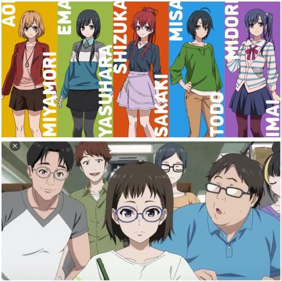 【悲報】フェミさん気づく「SHIROBAKOというアニメ、男はリアル調なのに女は美少女ばかりで気持ち悪い」