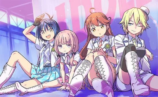 またアイドルアニメが増える!!来年1月から放送開始! 制作:シンエイ動画
